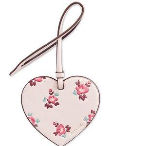Coach Heart ornament Handbag Charm